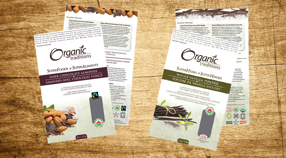 Organic Traditions – Packaging