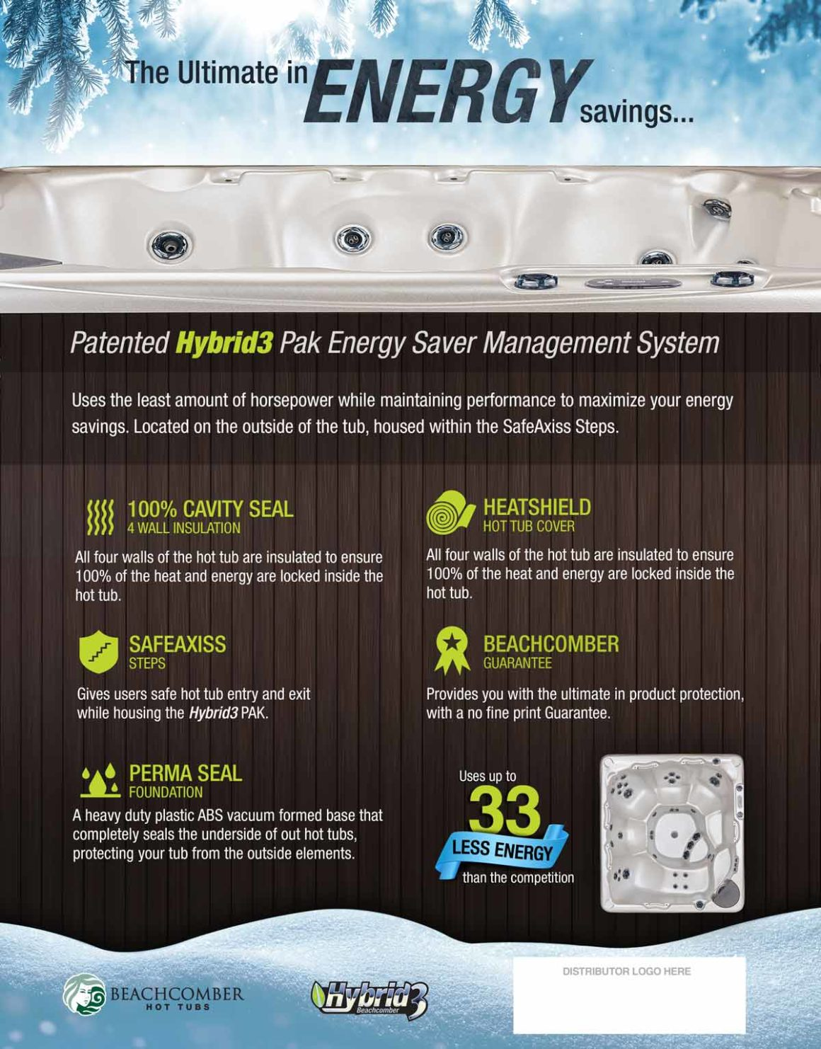 Beachcomber Hottubs – Sellsheet
