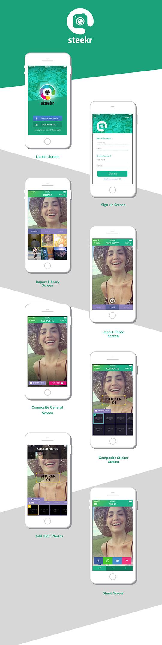 Steekr App